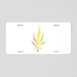 Fruity Cannabis Aluminum License Plate