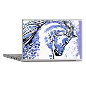 Purple Horse Laptop Skins