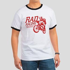 Retro RAD BMX Racing Black T-Shirt