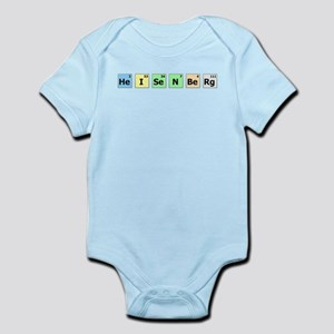 HeISeNBeRg Periodic Table Font Body Suit