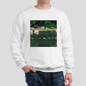Goosey in lake of the Island Sweater
