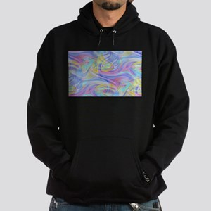 pastel hologram Hoodie (dark)