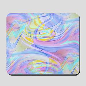 pastel hologram Mousepad