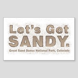 Great Sand Dunes National Park, Colorado Sticker