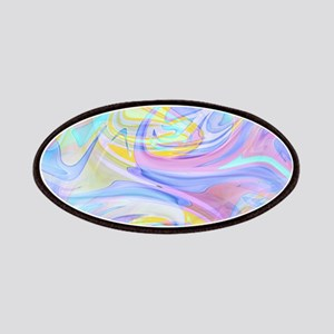pastel hologram Patch