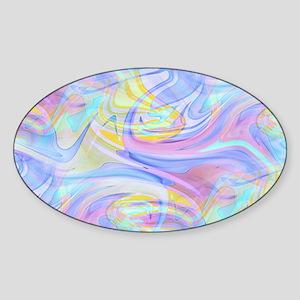 pastel hologram Sticker