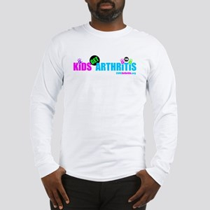 Kids Get Arthritis Too Neon Long Sleeve T-Shirt