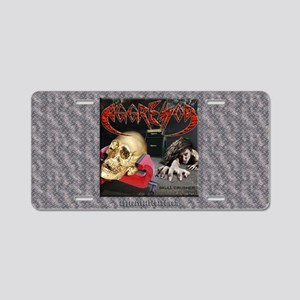 Skull Crusher Aluminum License Plate
