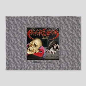 Skull Crusher 5'x7'Area Rug