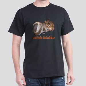Baby Squirrel Rehab Dark T-Shirt