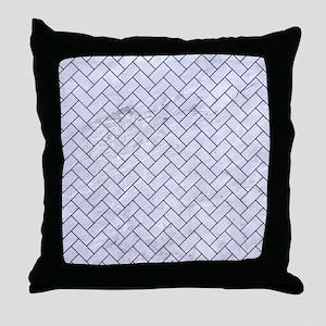 BRK2 BK-WH MARBLE (R) Throw Pillow