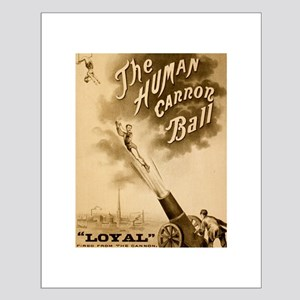 Human Cannon Ball Posters