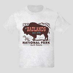 Badlands National Park Kids Light T-Shirt