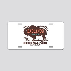 Badlands National Park Aluminum License Plate
