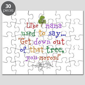 Like mama said Puzzle