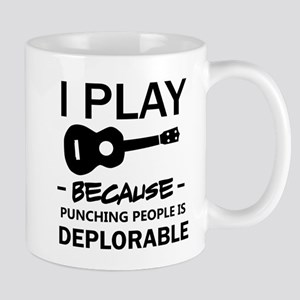 Ukulele designs Mugs