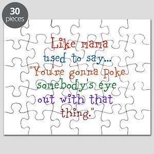 What mama said Puzzle
