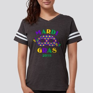 Mask Mardi Gras 2018 Womens Football Shirt