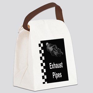 Exhaust Pipes Canvas Lunch Bag