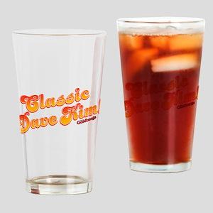 Classic Dave Kim Drinking Glass