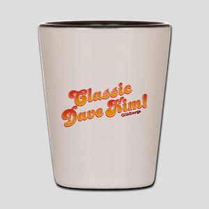Classic Dave Kim Shot Glass