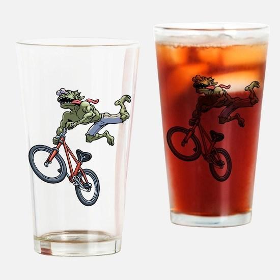 BMX Beez Drinking Glass