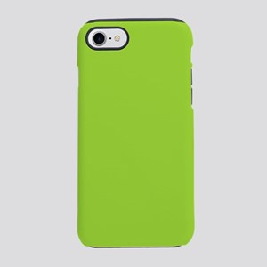 Lime green Neon Green iPhone 8/7 Tough Case