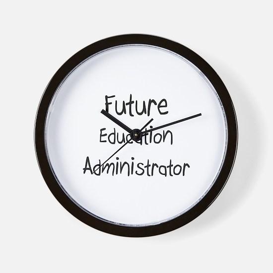Future Education Administrator Wall Clock