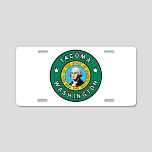 Tacoma Washington Aluminum License Plate