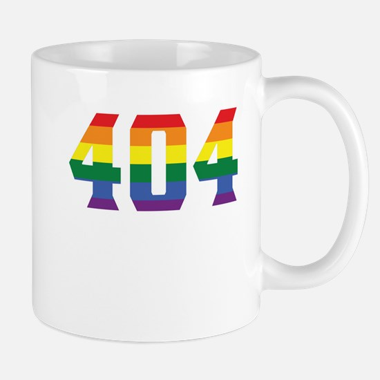 Gay Pride 404 Atlanta Area Code Mugs