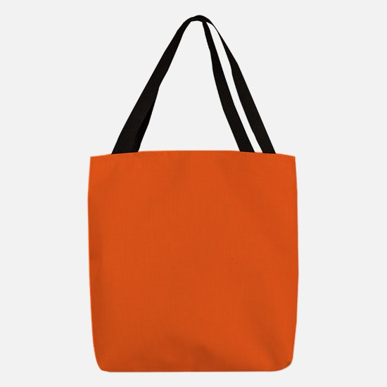 colorful bright mandarin orange Polyester Tote Bag