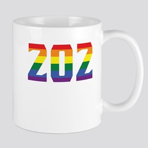 Gay Pride 202 Washington DC Area Code Mugs