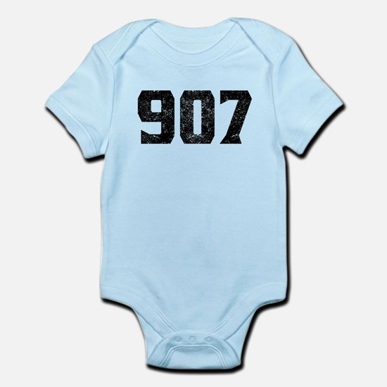 907 Anchorage Area Code Body Suit