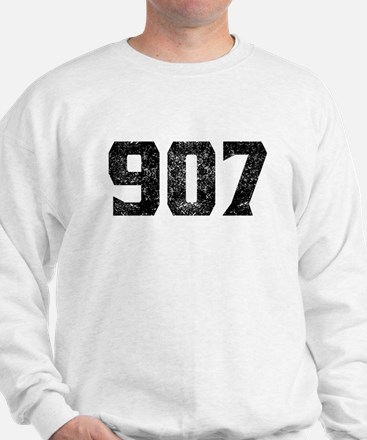 907 Anchorage Area Code Sweater