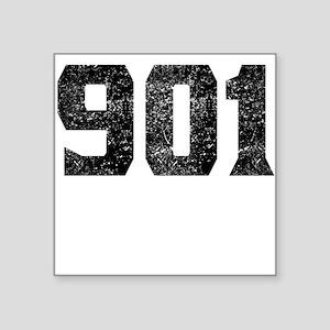 901 Memphis Area Code Sticker