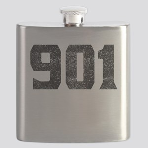 901 Memphis Area Code Flask