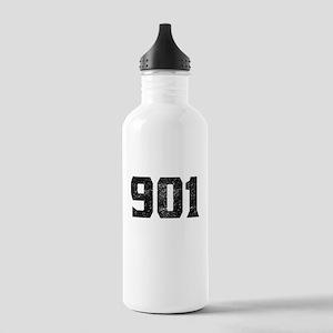 901 Memphis Area Code Water Bottle