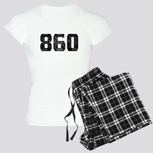 860 Hartford Area Code Pajamas