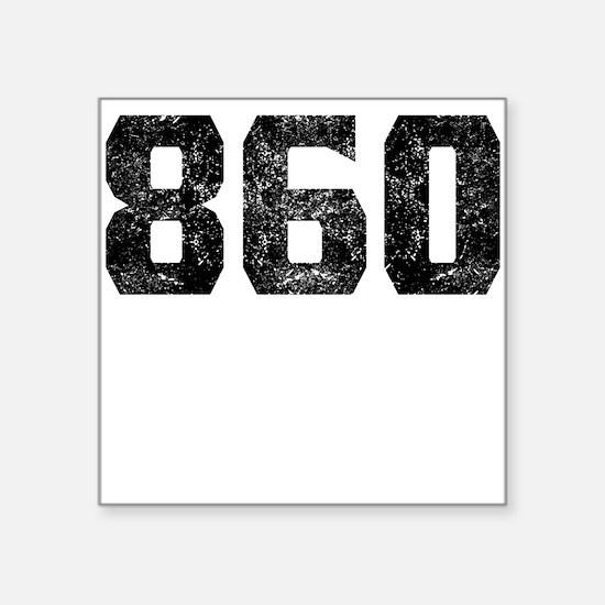 860 Hartford Area Code Sticker