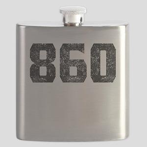 860 Hartford Area Code Flask