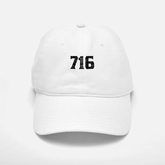 716 Buffalo Area Code Baseball Baseball Baseball Cap