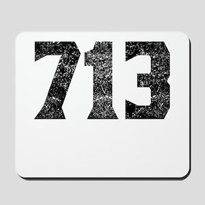 713 Houston Area Code Mousepad