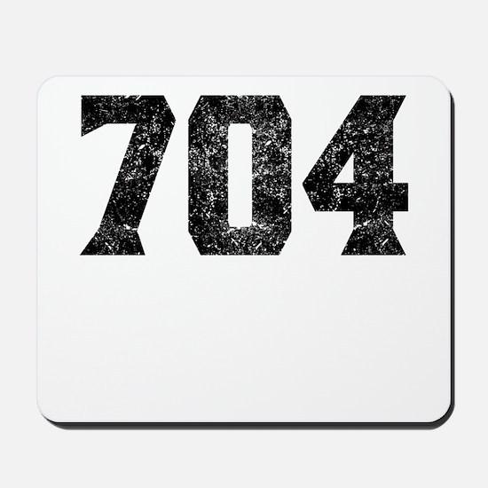 704 Charlotte Area Code Mousepad