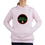 Action / Adventure Women's Hooded Sweatshirt