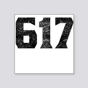 617 Boston Area Code Sticker