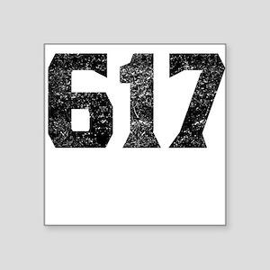 617 Boston Area Code Sticker