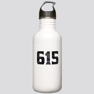 615 Nashville Area Code Water Bottle