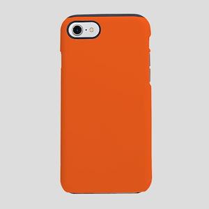 colorful bright mandarin ora iPhone 8/7 Tough Case