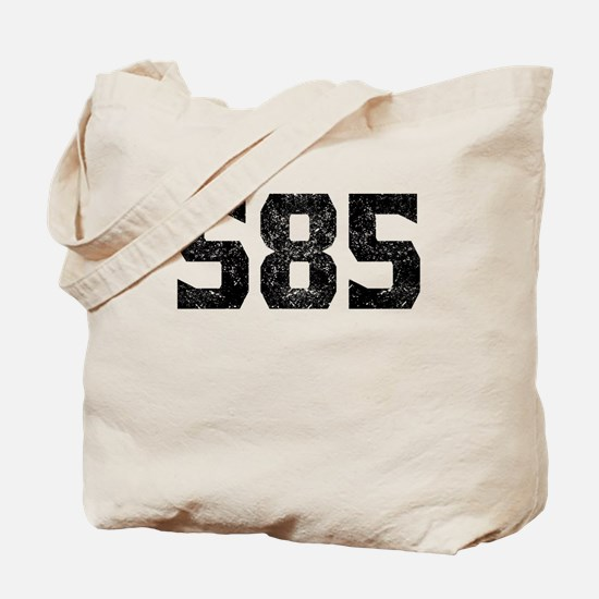 585 Rochester Area Code Tote Bag