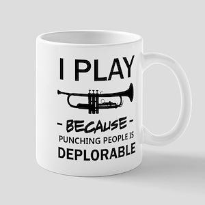 I play the trumpet Mugs